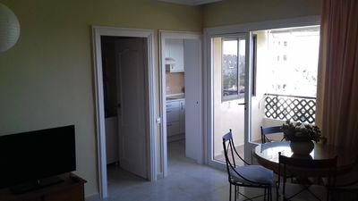 Photo for Ideal apartment with a bedroom for 2-4 people