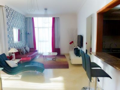 Photo for Fantastic 1 Bedroom Apartment.  Dubai Marina, end of JBR