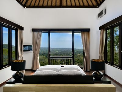 Photo for Villa Leana - Stunning Hilltop Villa with Pool Fence