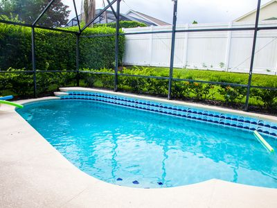 Photo for house  with private heated pool/jacuzzi/free wifi/phone/grill/3 m to disney/pet