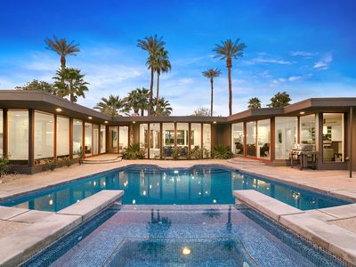 Photo for 'Desert Chic' Indian Wells Pool Pad, Unobstructed Views!