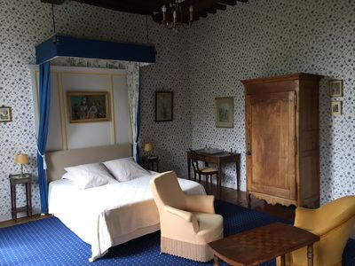 Photo for Blue Room Chateau d'Asnieres en Bessin - Omaha Beach