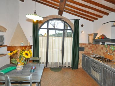 Photo for One bedroom Apartment, sleeps 4 in San Gimignano with Pool, Air Con and WiFi