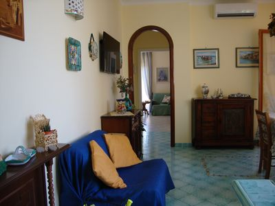 Photo for CHARMING APARTMENT WITH TERRACE EQUIPPED A FEW MILES FROM SORRENTO