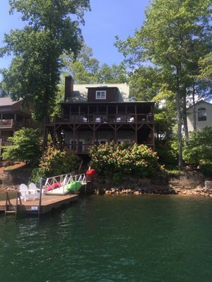 Photo for NEW LISTING! Spectacular Home and Views on Lake Santeetlah, NC