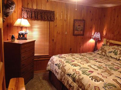 Photo for Beautiful Lakefront Air Conditioned Cabin on Little St. Germain Lake