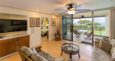 Photo for Ocean View Condo with Private Lanai & BBQ, Resort Hot Tub, Pools, Golf Course- Country Club Villas 208