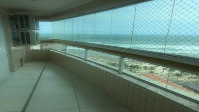 Photo for SINGLE APARTMENT ON THE BEACH GREAT FRONT TO THE SEA