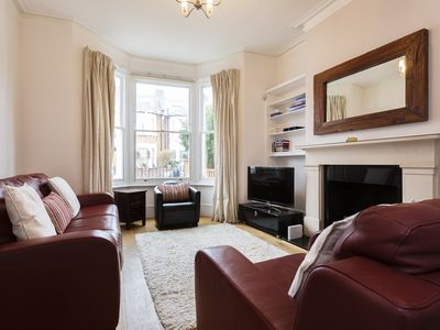 Photo for Beautiful 4 bed home with lovely garden located in boutique Chiswick - Veeve