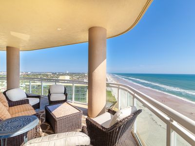 Photo for PH 1104 Oceanfront beach retreat with private balconies and endless views of the Atlantic Ocean.