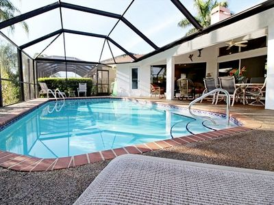 Photo for 26% OFF! -SWFL Rentals - Villa Miranda - Stunning Gulf Access Pool Home Sleeps 8