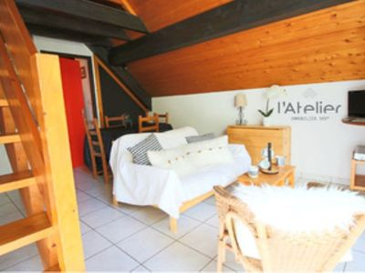 Photo for Cozy apartment in the heart of the village of Saint-Lary