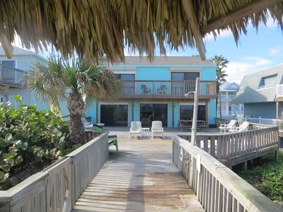 Photo for Ocean Front 3 Bedroom/3 Bath Home on 'No Drive Beach'