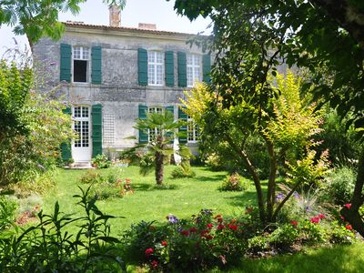 Photo for 15mn Royan or Oleron charm of a 18th century house renovated wifi garden.