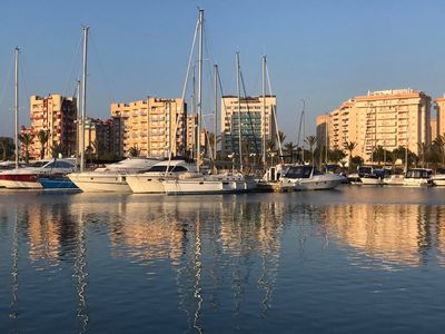 Photo for Los Miradores del Puerto, La Manga Marina With Sea Views