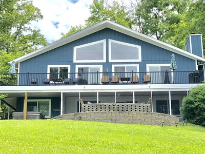 Photo for Smith Mountain Lake Waterfront Home W/ Hot Tub & Water Fun Extras Included