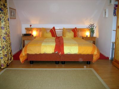 Photo for Sea breeze 1 *** DG-apartment 40 sqm, near the beach, for 2 + 1 persons, balcony, dune view