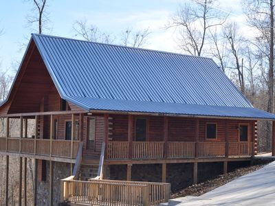 Photo for Southern Cedar Log Cabin 'New' 2015