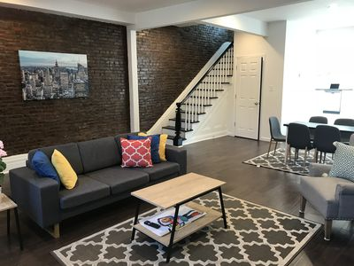 Newly Renovated exposed brick Open Floor Living space