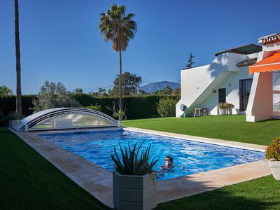 Photo for Villa with private pool in Estepona, Andalusia, Spain