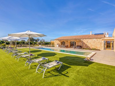 Photo for Modern Country Villa in an Idyllic Location with Pool, Wi-Fi, Air Conditioning & Terrace