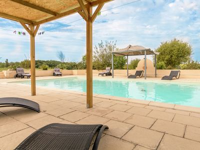 Photo for Detached villa with heated private swimming pool, jacuzzi and beautiful views