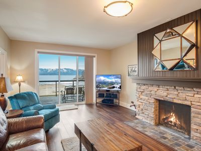 Photo for Seasons at Sandpoint - Gorgeous Lakefront Condo - Short Walk to Downtown