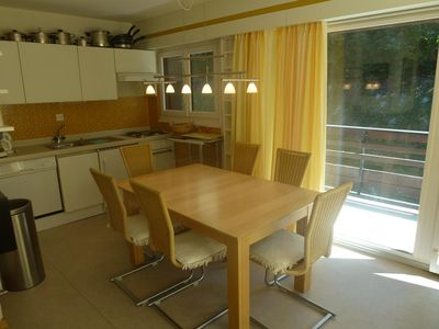 Photo for Nice renovated 3-room apartment (2 bedrooms), 3* for 4 to 6 people in the centre of the resort at ab
