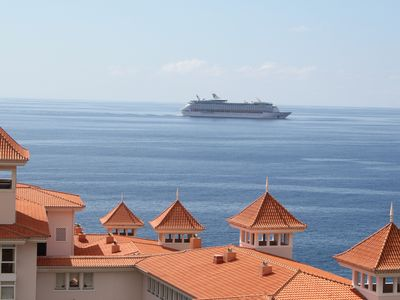 Photo for Penthouse with three terraces with magnificent views. Madeira.Funchal.
