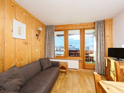 Photo for Apartment 374 m from the center of Tignes with Lift, Internet, Balcony (111351)