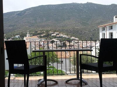Photo for Appart terrace, comfort **** Church view / sea, 2 double bedrooms Wifi, Sat TV