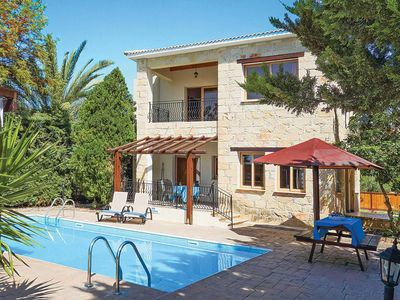 Photo for Characterful stone-faced villa with pool & BBQ, plus mature garden offering privacy