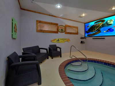 Photo for 4 Bedroom with Private Indoor Heated Pool