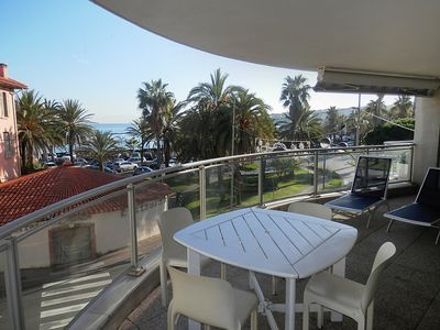 Photo for Apartment in the center of Antibes with Lift, Parking, Washing machine, Balcony (346367)