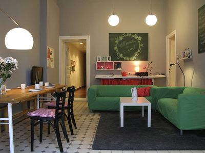 Photo for For beautiful mountain, this family-friendly apartment located in central Berlin
