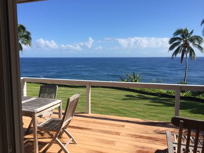 Photo for OUR AREA IS NOT EFFECTED BY THE RECENT VOLCANO - THE PERFECT OCEANFRONT RETREAT!