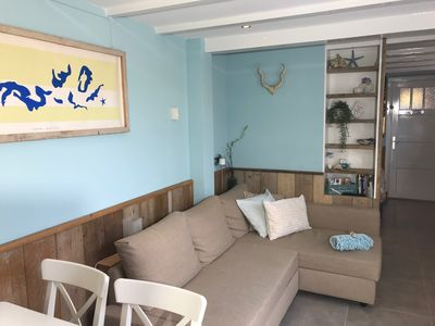 Photo for Luxury apartment near beach/dune/center incl. parking and patio. Quiet location.