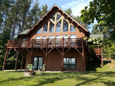 Photo for 5BR Cabin Vacation Rental in Nebo, North Carolina
