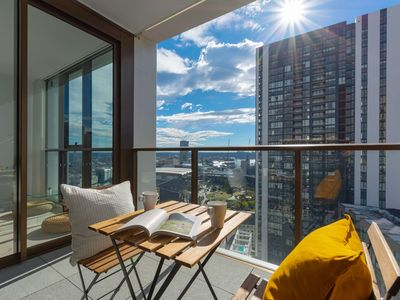 Photo for Darling Harbour View On Your Balcony in CBD