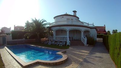 Photo for Villa Marisol with air conditioning, private pool 10x5m. for max. 10-12 people