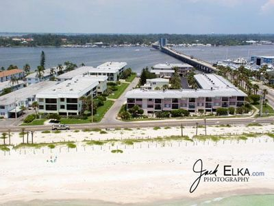 Photo for Great 2BR/2BA Condo for 6! Pet Friendly, Gulf Views, and Open Lanais!