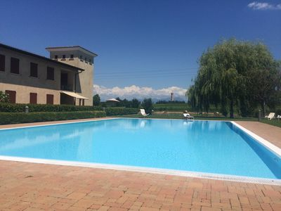 Photo for Apartment in the wine fields on Lake Garda