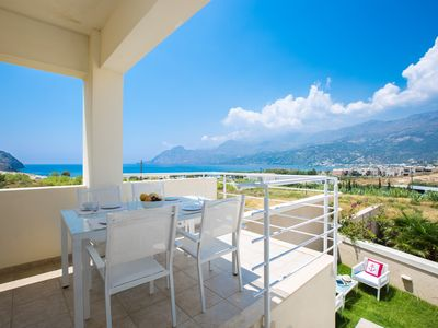 Photo for Michaela Beach Apartment! 300m to Plakias beach, walking distance to restaurants