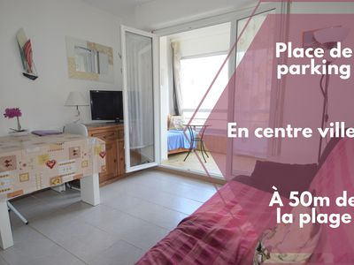 Photo for Charming apartment near the center and the sea