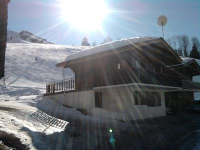 Photo for Traditional Savoyard Chalet On The Slopes Of Ski --Chinaillon Grand Bornand