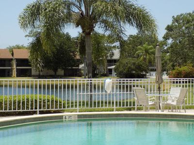 Photo for Gorgeous first Floor lakefront 2 bedroom 2 bath condo in the center of Naples