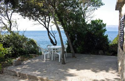 Photo for One bedroom apartment near beach Kozarica (Mljet)