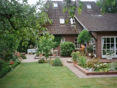 """Photo for Apartment """"Landhaus im Grünen"""" - App. """"Country house in the countryside"""", shower"""