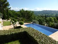 Incredible villa with wonderful gardens and views.