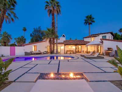 Photo for Luxury Spanish Villa moments from Downtown Palm Springs